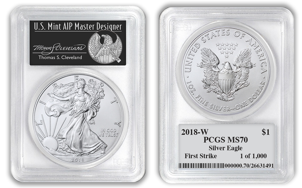 2018 W Burnished Silver American Eagle Ms70 Fdi Ngc West Point Core Label